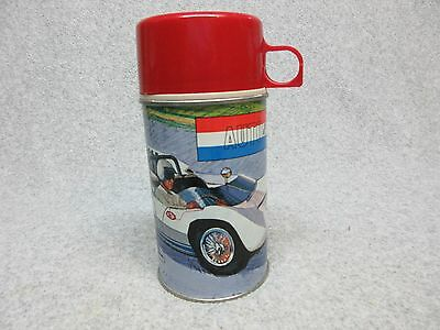 Best-On-bay 1967 AUTO RACE Metal THERMOS  Race Car MiNt UnUsed Condition#10