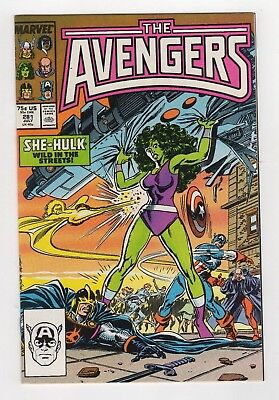 Marvel Comics The Avengers #281 Copper Age