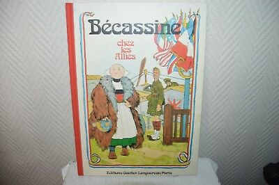 Album Bd Becassine Chez Les Allies Vintage Book 1974 Be Gautier . Pinchon