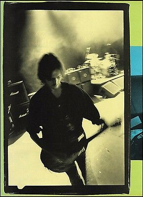 Pearl Jam Mike McCready 8 x 11 pinup photo 3c