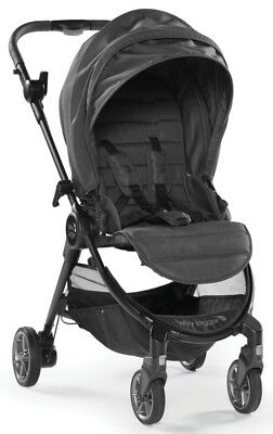 Baby Jogger City Tour Lux Lightweight Compact Travel Stroller Granite w/ Bag