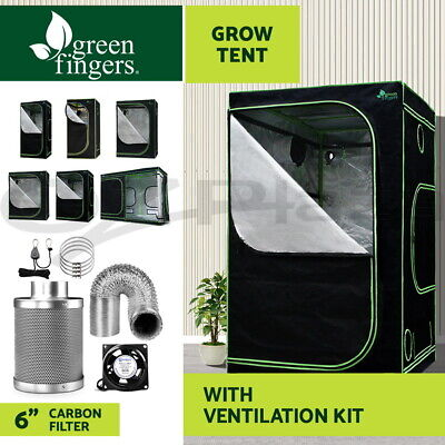 Greenfingers Indoor Grow Tents Kit Ventilation Kit Aluminum Oxford Cloth