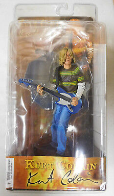 Kurt Cobain figure NECA Toys Blue Guitar Smells Like Teen Spirit NEW SEALED 2006