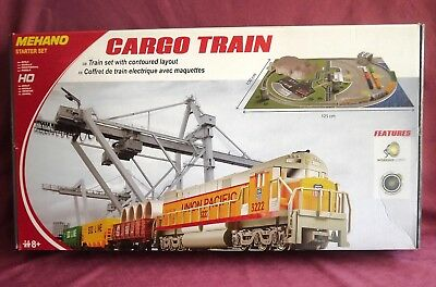 Cargo Train Set With Layout *  Ho Series -  New Stock *  Very Cheap Starting Set