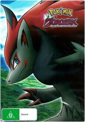 "Pokemon Movie 13 ""ZOROARK MASTER OF ILLUSIONS"" DVD - Region [4] NEW"