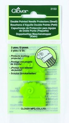 Clover Double Pointed Knitting Needle Protector - per pack of 2 (CL3153-M)