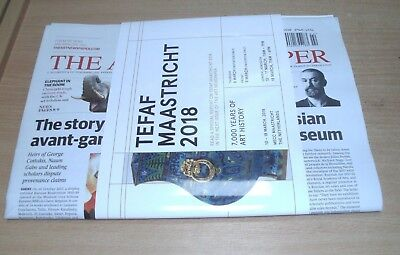 The Art Newspaper #298 FEB 2018 Tefaf Maastricht, China & the Ivory Trade + more