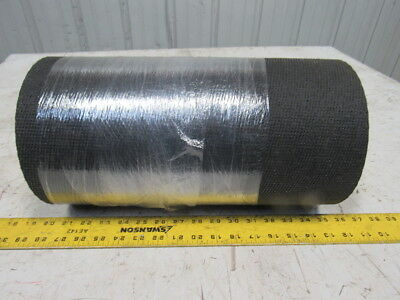 "1-Ply Black Interwoven Polyester Fabric Conveyor Belt 26' x 15"" x .122"""