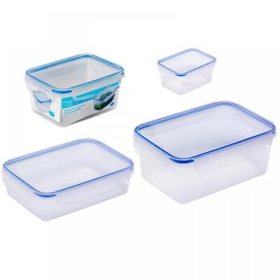 Plastic Clip Top Airtight Food Kitchen Storage Box Container in Choice of Sizes  sc 1 st  PicClick UK & PLASTIC CLIP TOP Airtight Food Kitchen Storage Box Container in ...