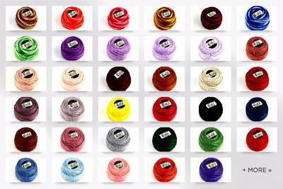 DMC Cotton Perle Thread Size 8 - per 10 gram ball (D116-8-M)