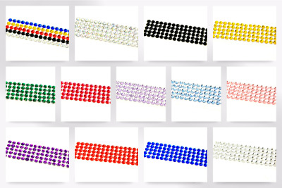 Stick-On Self Adhesive Diamante Jewel Gems (AP5000-M)