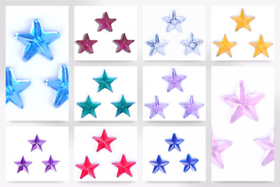 Impex Star Stick On Diamante Jewels - per pack of 20 (B60421-M)
