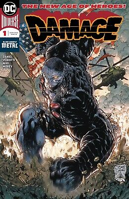 DAMAGE #1, New, First print, DC UNIVERSE (2018)