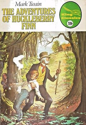 King Classics #10  The Adventures Of Huckleberry Finn  Original  1977