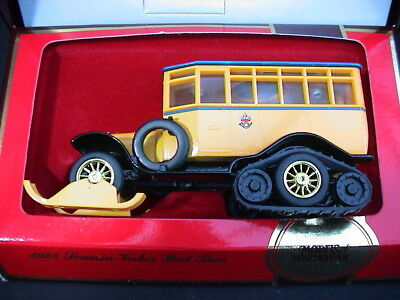 Matchbox Models of Yesteryear Y16. 1923 Scania-Vabis Post Bus. Mint & Boxed