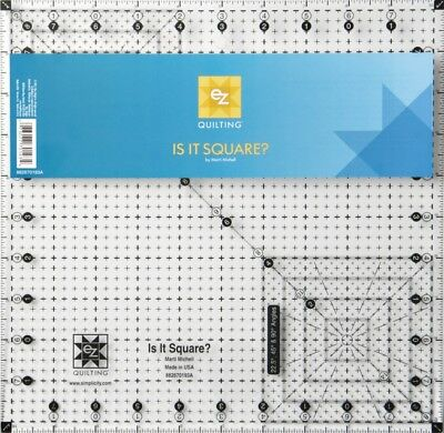 EZ Is It Square Acrylic Quilting Template (882670193A)