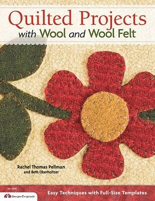 Quilted Projects With Woolfelt Quilt Book (BKRGF1013)