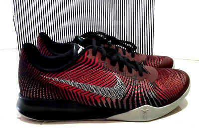 check out 4327f 065bb New Nike Kb Mentality Ii Mens Athletic Shoes Size 11.5 Red black 818952 002