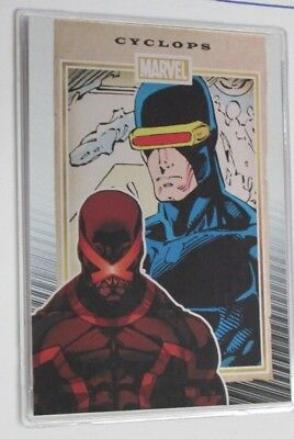 Marvel 75Th Anniversary Trading Cards Rittenhouse**gold Foil Cyclops  10/10