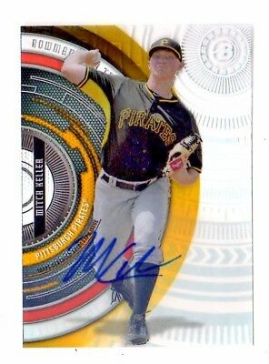 Mitch Keller Mlb 2017 Bowman High Tek Autographs (Pittsburgh Pirates)