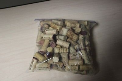 Premium California Wine Corks 100% ALL Natural Mix of Logos NOT USED Silver Oak