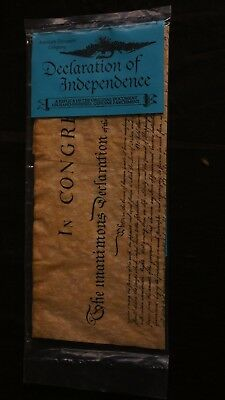 American Document  Declaration of Indepence, Replica new in package