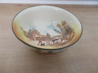 Royal Doulton, 'Rustic England' D6297 Footed Bowl