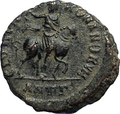 HONORIUS on Horse 392AD Original Genuine Authentic Ancient Roman Coin i67121
