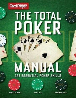 Total Poker Manual, Cardplayer, 9781681881058