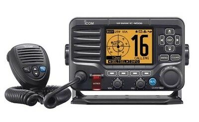 Icom M506 Fixed Mount VHF Radio with Rear-Mount Mic/Hailer  IC-M506 31