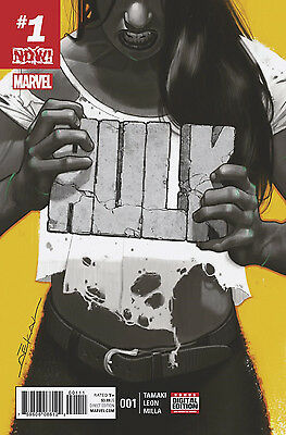 HULK #1, New, First print, Marvel NOW (2016)