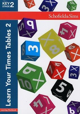Learn Your Times Tables 2: KS2 Maths, Ages 8-11 (Paperback), Koll...