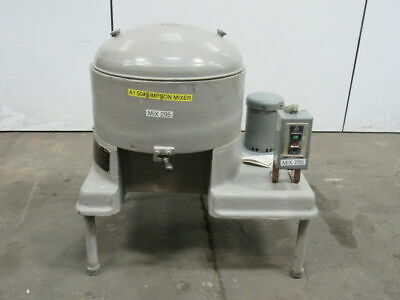 "Simpson No. LF Style U.D. 1HP Mix-Muller 24""Dx 8""D Bowl 208-230/460V 3PH"