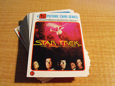Star Trek The Motion Picture Kilpatrick's Bread 33 Card Set