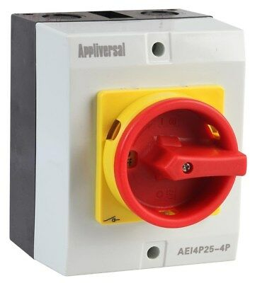 Appliversal aei4p25 4p isolator safety switch 4 pole 25a r2df appliversal aei4p25 4p isolator safety switch 4 pole 25a r2df publicscrutiny Gallery