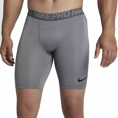 Nike Herren Fitness Trainings Short Nike Dri Fit Pro Funktionsunterhose grau
