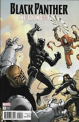 Marvel Black Panther The Sound and the Fury comic issue 1 Limited variant