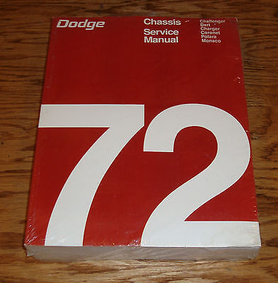 1971 dodge chassis service shop manual 71 challenger charger dart rh picclick com 1974 Challenger 1973 Challenger