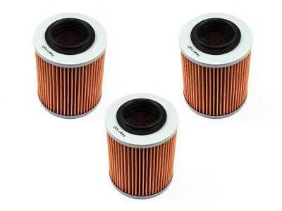 Oil Filter Set 3 Piece Hiflo Hf152 for Bombardier DS Can Am Outlander Cfmoto