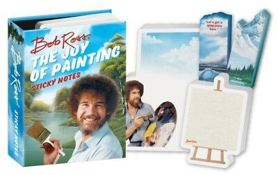 Bob Ross Joy of Painting Sticky Notes Brand New In Package