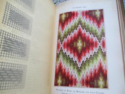 C1900 French Needlework Book Therese De Dillmont Encyclopedie Ouvrages De Dames