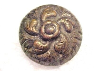"Late 19Th Early 20Th Century Large 1"" Repousse  Brass Tack For Rosette Block"