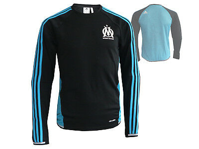adidas Olympique Marseille Training-Top OM Fussball-Shirt schwarz-blau XS - 3XL
