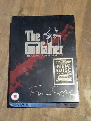 The Godfather Trilogy - The Coppola Restoration (5 Disc DVD)