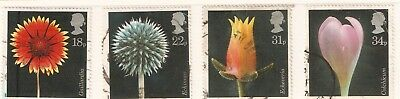 Collectible Great Britain 1987 USED Stamps: Flora by Photographer Alfred Lammer