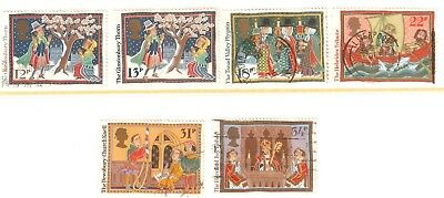 Collectible Great Britain 1986 USED Stamps: Christmas Customs
