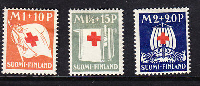 Finland Red Cross 1930 Complete set 278/80 Mint