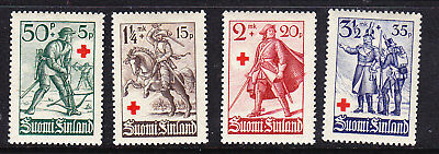 Finland Red Cross 1940 Complete set 335/8 MLH