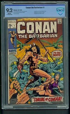 Conan the Barbarian #1 (1970) CBCS Graded 9.2 ~ Barry Windsor-Smith ~ Not CGC