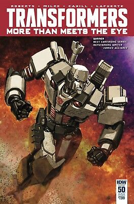 TRANSFORMERS MORE THAN MEETS EYE #50, CHOI VARIANT, New, IDW (2016)